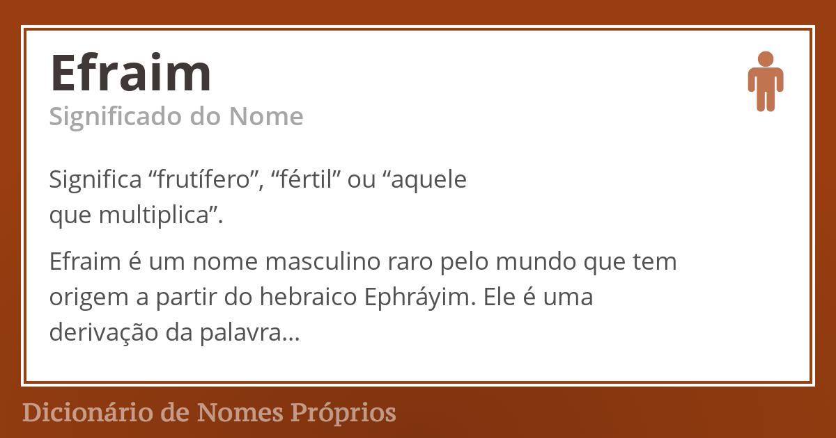 Efraim