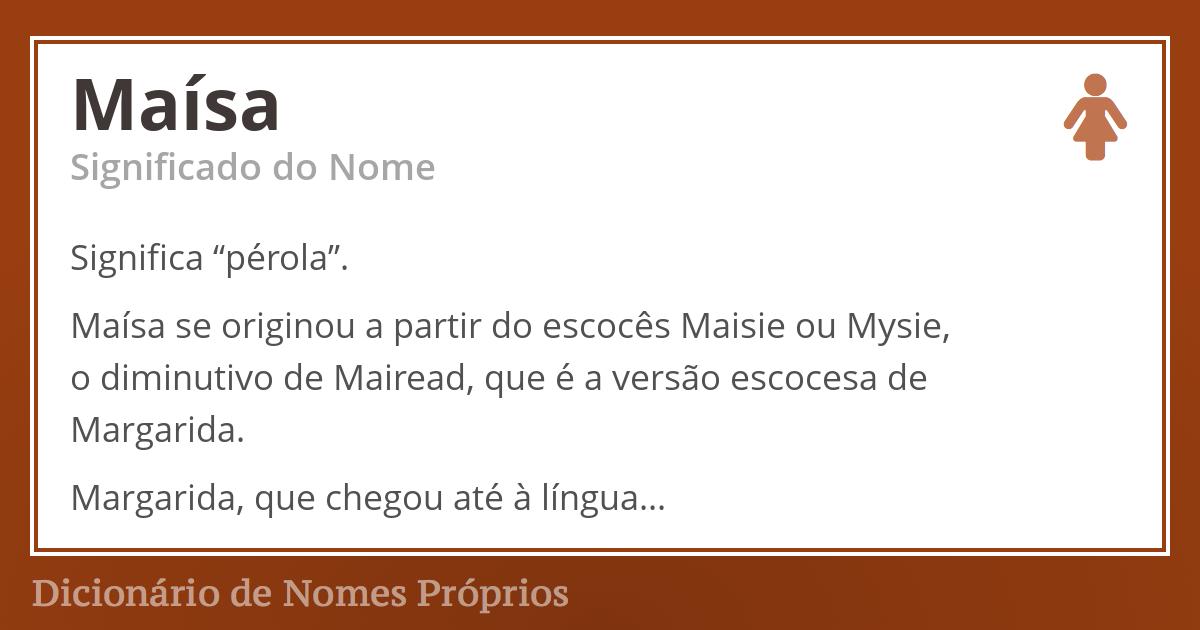 Maísa