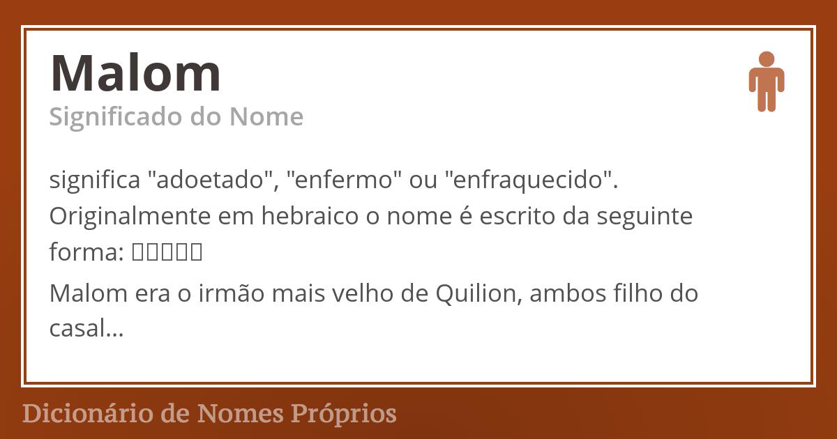 Malom