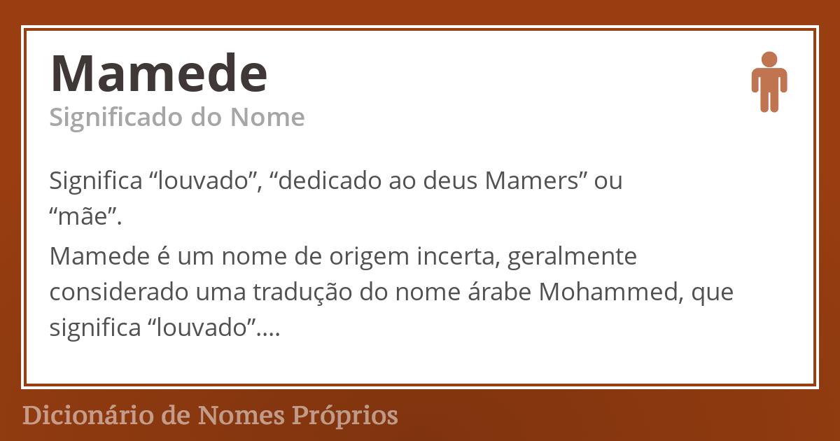 Mamede