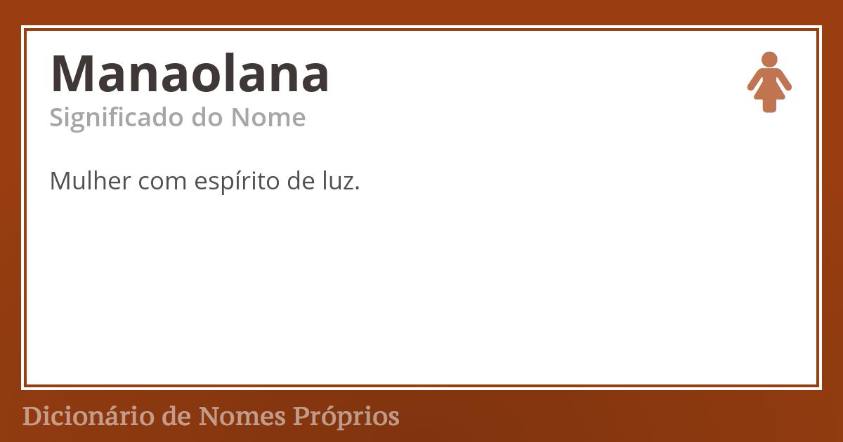 Manaolana