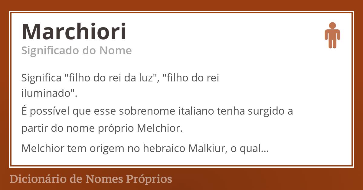 Marchiori