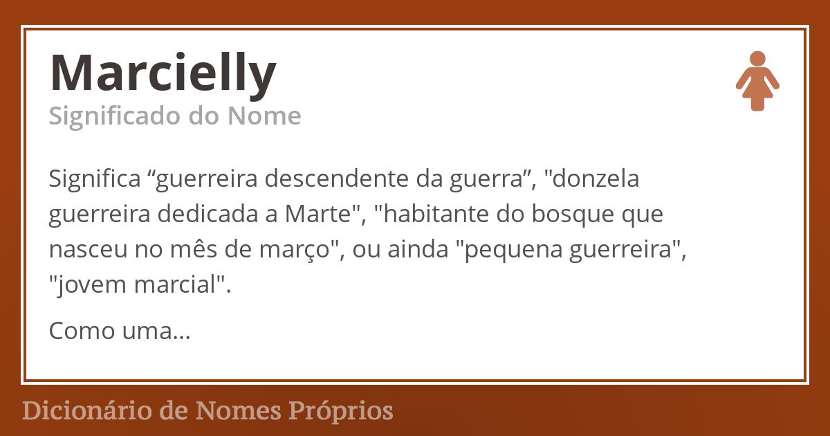 Marcielly
