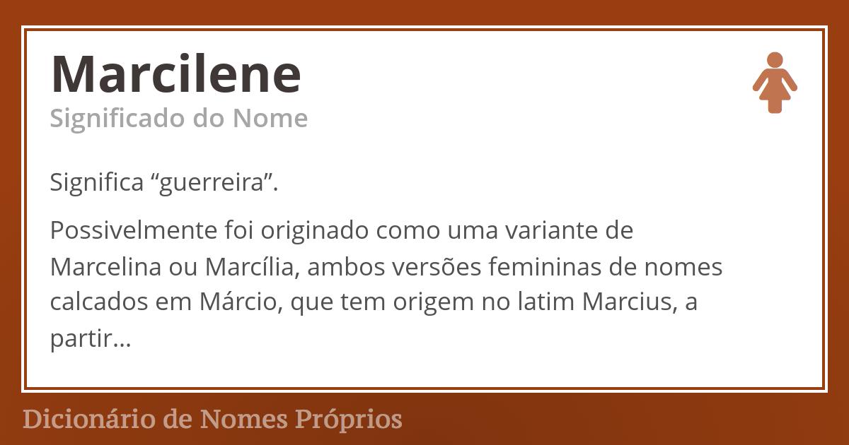 Marcilene
