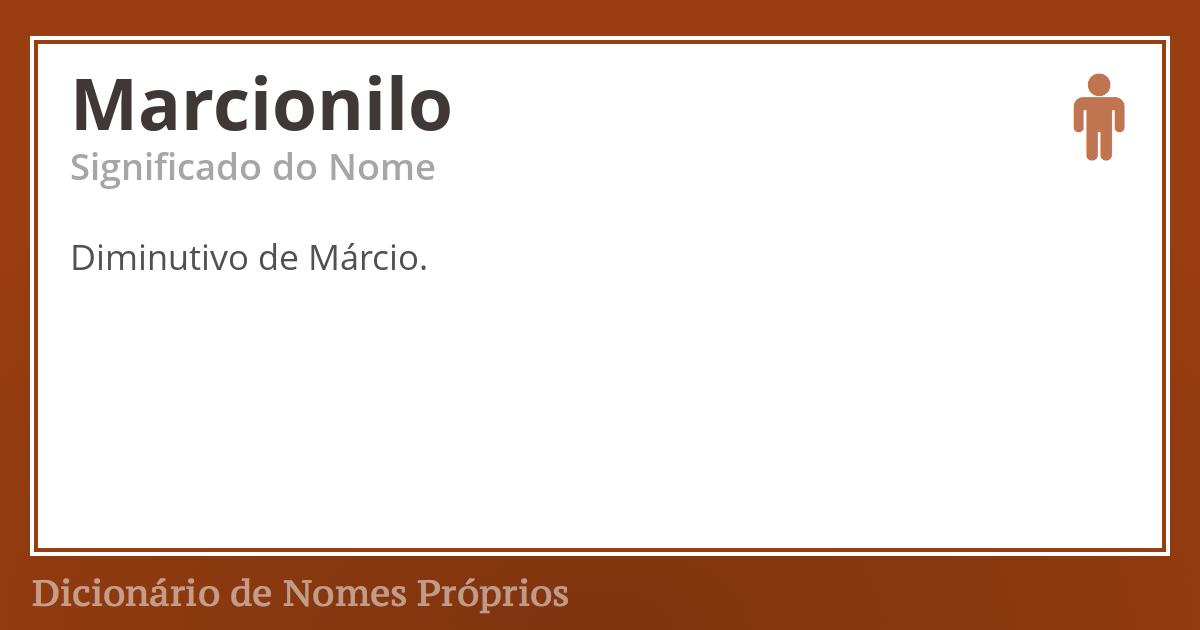 Marcionilo