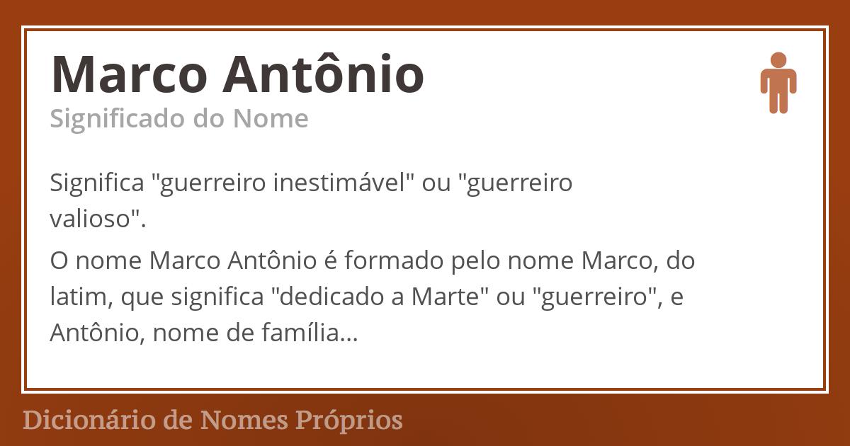 Marco Antônio