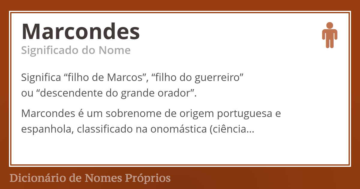 Marcondes