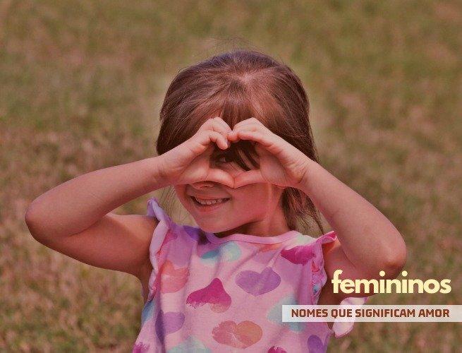 nomes femininos que significam amor