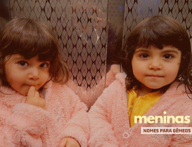 Nomes para gêmeas meninas