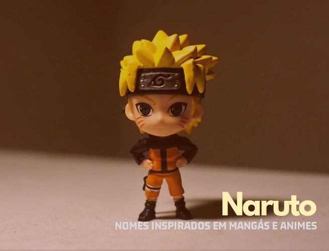 Nomes inspirados em Naruto
