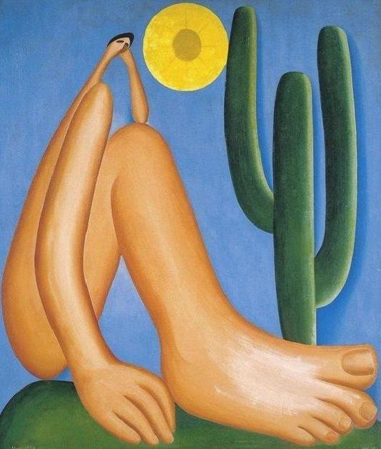 Nome tarsila: quadro Abaporu de Tarsila do Amaral