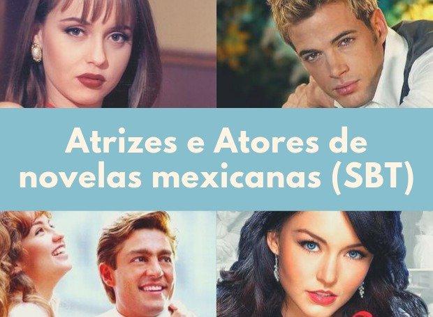 16 nomes de atrizes e atores das novelas mexicanas do SBT