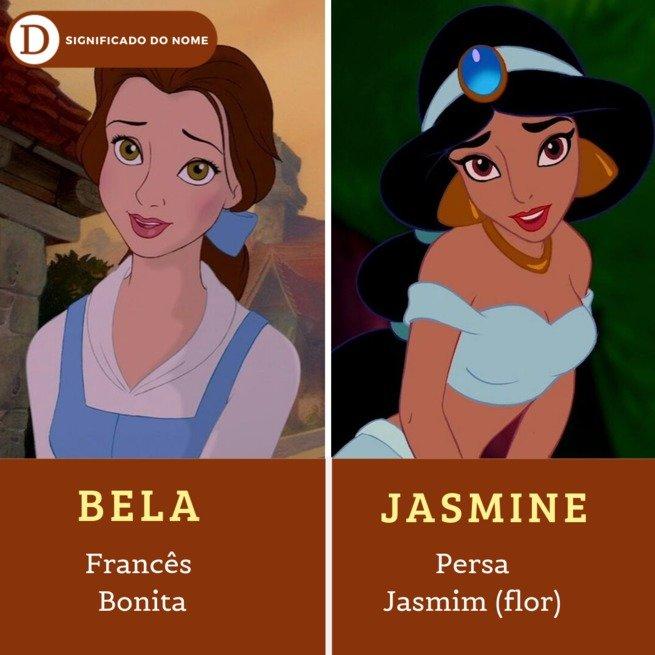 15 nomes de princesas da Disney e os seus significados