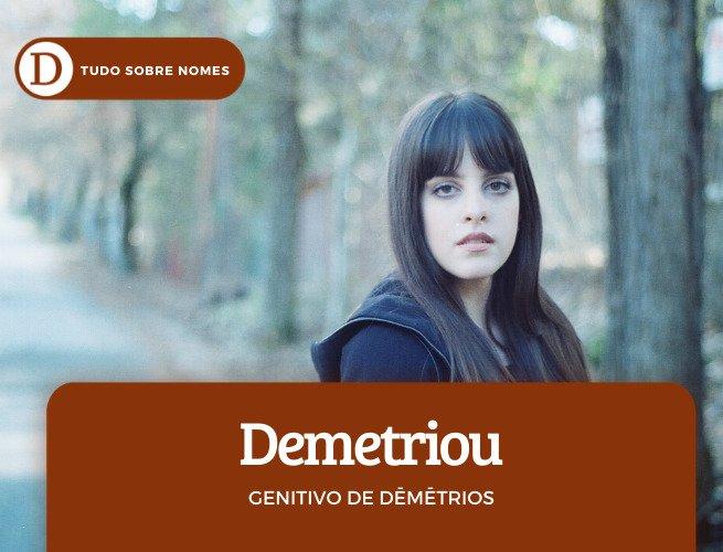 Demetriou