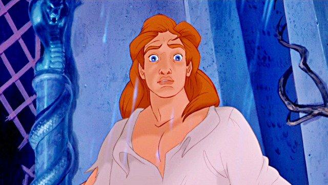 A Fera - Príncipe Adam (A Bela e a Fera)