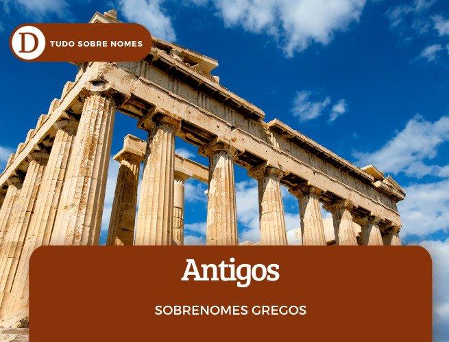 sobrenome grego antigo