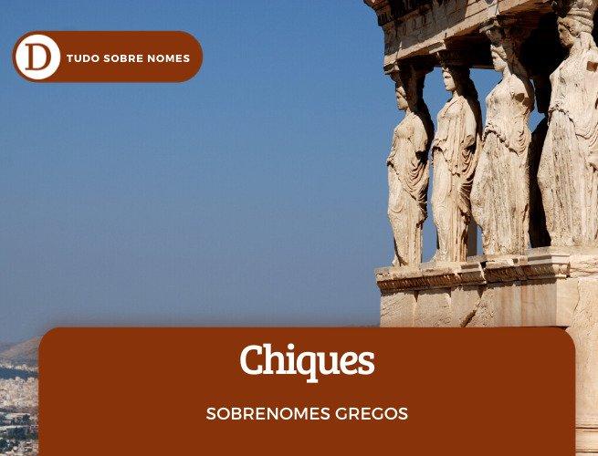 Sobrenomes gregos chiques