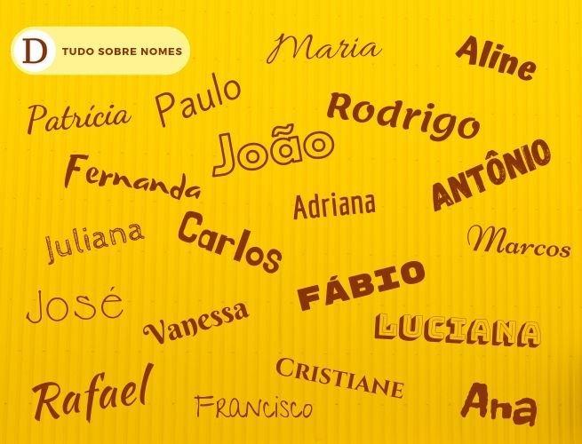 Lista dos nomes mais populares na década de 80