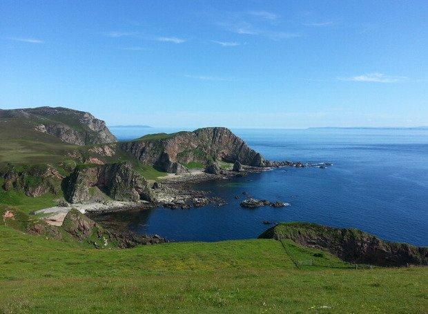 nome Isla: foto da ilha Islay, Escócia.