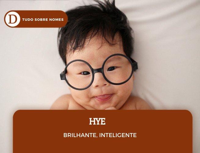 NOMES COREANOS_HYE