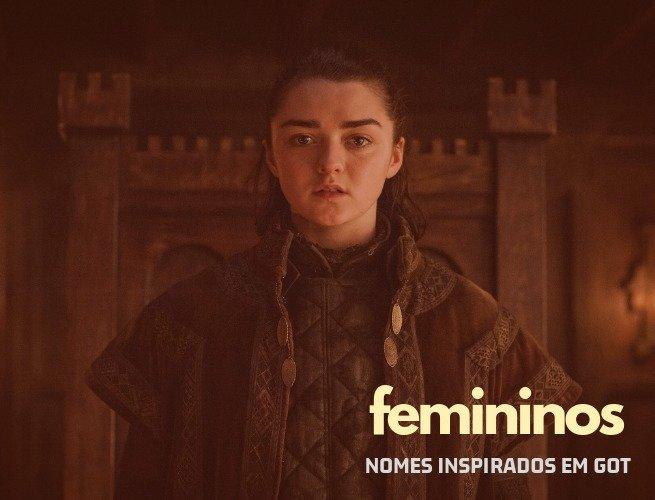 Nomes de menina inspirados em Game of Thrones