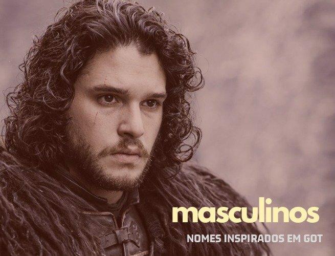 Nomes de menino inspirados em Game of Thrones