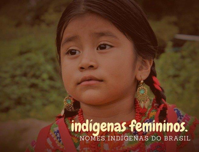 nomes indígenas femininos