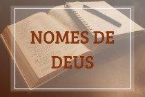 Os nomes de Deus na bíblia e em outras religiões
