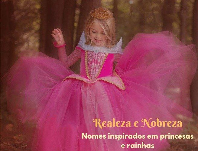Nomes princesas e rainhas