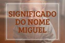 Significado do nome Miguel: origem, curiosidades e mais!